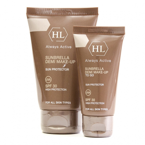 Holy Land Sunbrella Demi Make-Up to go (SPF 30) | Солнцезащитный крем, 50 мл