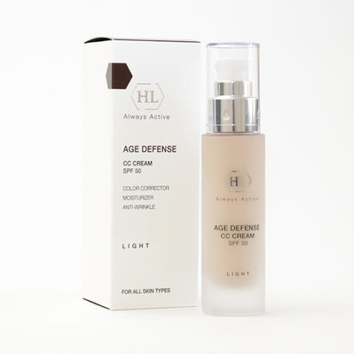 Holy Land AGE DEFENSE CC Cream Light (SPF50) |Корректирующий крем, 50 мл